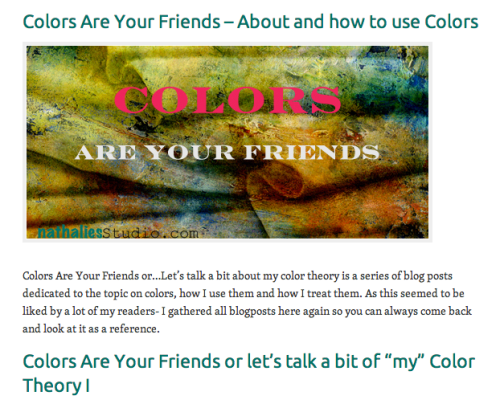 Colors Are Yiur Friends
