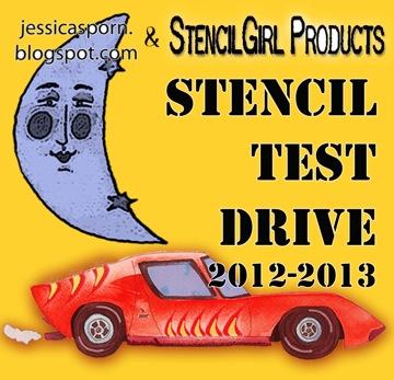 Stencil Test Drive Logo